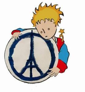 El principito también apoya a París