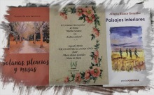 Portadas de mis tres poemarios